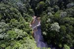 Waterfall in Imbak Canyon