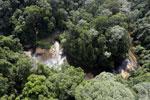 Waterfall in Imbak Canyon -- sabah_aerial_1908