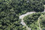 River in Borneo -- sabah_aerial_2312