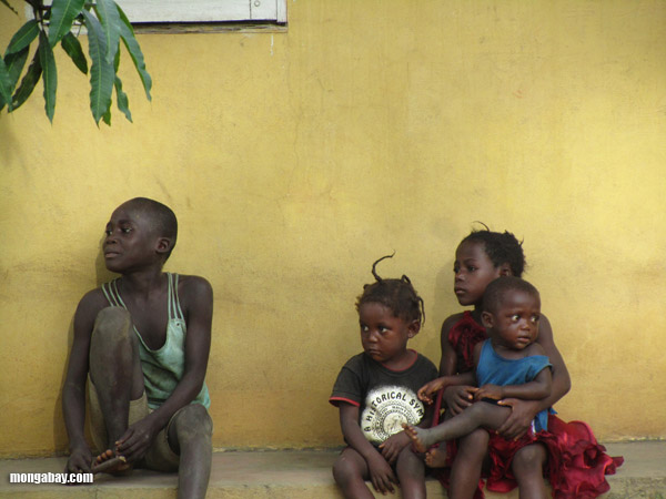 Kids in Congo