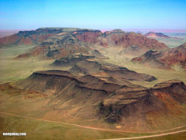 Mountains in the Namibian Desert