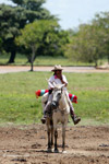 Cowgirl in Colombia