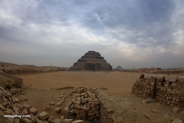 Step pyramid of King Djoser