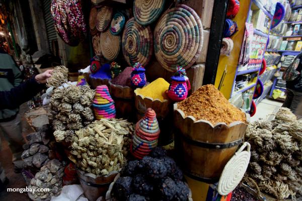 Spice market in Aswan