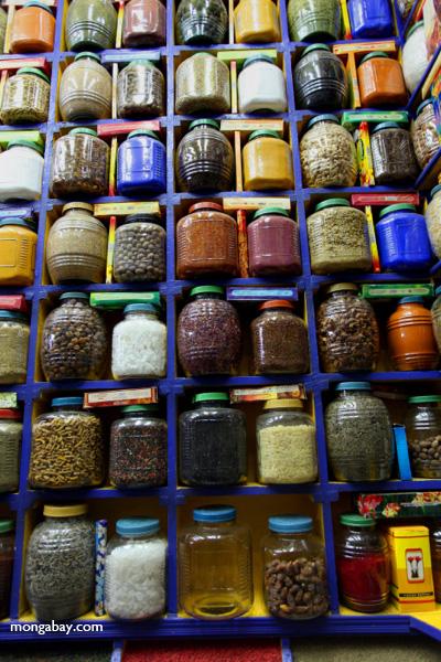 Spice market in Aswan [egypt_0263]