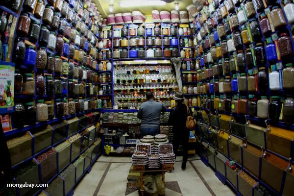 Spice market in Aswan [egypt_0276]