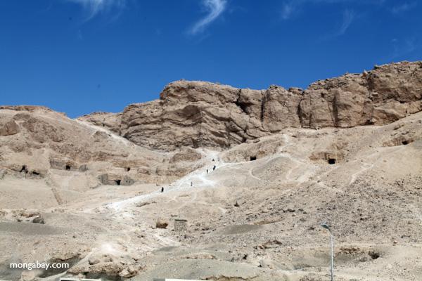 Tombs near Hatshepsut Temple