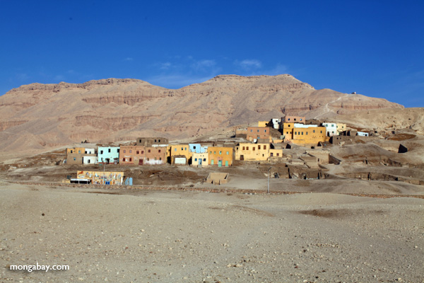Village on the West bank of Luxor