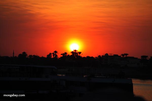 Sunset in Luxor [egypt_0386]