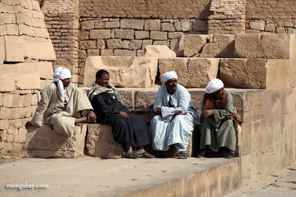 Men at the Temple of Kom Ombo [egypt_0554]