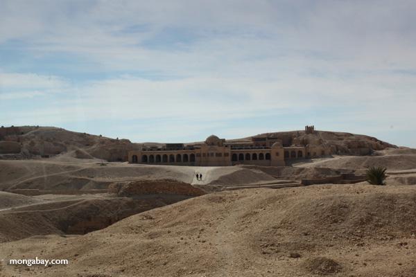 Monastery near Hatshepsut Temple [egypt_0851]