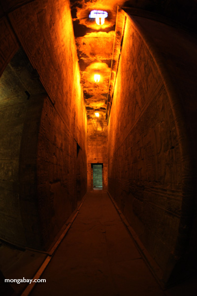 Hallway at Edfu Temple [egypt_1572]