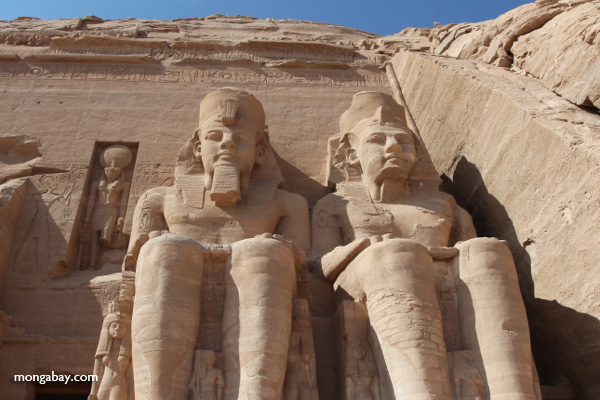 Statue at Abu Simbel