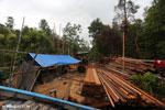 Illegal sawmill in Borneo [kalteng_0203]