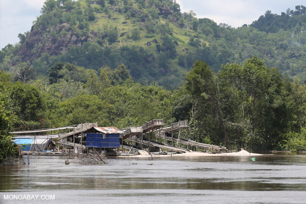 negative environmental impacts of diamond mining