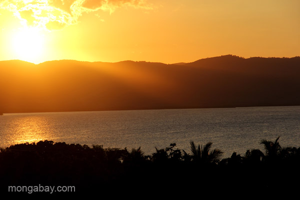 Sunset at Punta Rusia, Dominican Republic.
