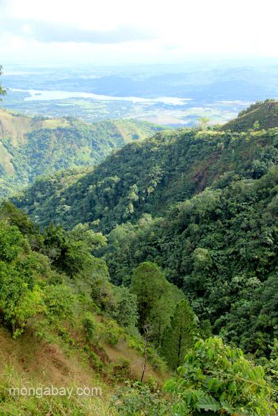 The mountain views near Ebano Verde Scientific Reserve in the Dominican Republic.