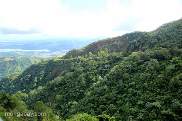 The mountain views near Ebano Verde Scientific Reserve in the Dominican Republic.