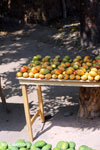 Mangos for sale along a road in Madagascar