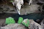 Blue pool in a cave in Ankarana [madagascar_ankarana_0042]