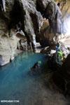 Blue pool in a cave in Ankarana [madagascar_ankarana_0059]