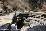 Giant sinkhole in Ankarana riverbed [madagascar_ankarana_0287]