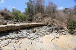 Giant sinkhole in Ankarana riverbed [madagascar_ankarana_0288]