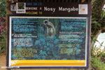 Nosy Mangabe sign