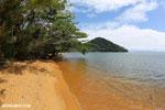 Beach on Nosy Mangabe [madagascar_maroantsetra_0186]