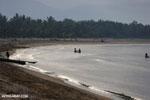 Villagers fishing on a beach in Maroantsetra [madagascar_maroantsetra_0275]