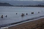Villagers fishing on a beach in Maroantsetra [madagascar_maroantsetra_0284]