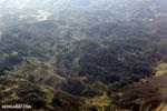Airplane view of deforestation in Madagascar