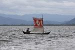 Boat near Nosy Mangabe
