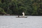 Boat near Nosy Mangabe [madagascar_masoala_0024]