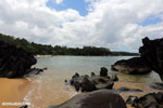 Boulders on a beach in Tampolo Marine Park on the Masoala Peninsula [madagascar_masoala_0813]