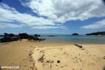 Boulders on a beach in Tampolo Marine Park on the Masoala Peninsula