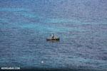 Boat off Nosy Komba