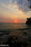 Sunset off Nosy Komba [madagascar_nosy_komba_0149]