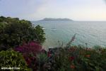 Beach and coast on Nosy Komba as seen from the Jardin Vanille Hotel [madagascar_nosy_komba_0243]