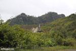 Rural village in Toamasina, Madagascar