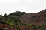Slash and burn deforestation of Madagascar's rainforest [madagascar_tamatave_0156]