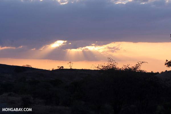 Sunset in Western Madagascar