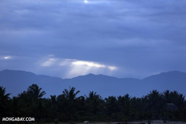Sunrise in Maroantsetra