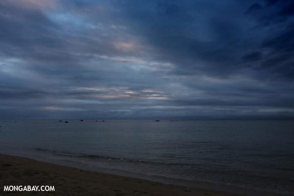 Sunset over the Bay of Antongil