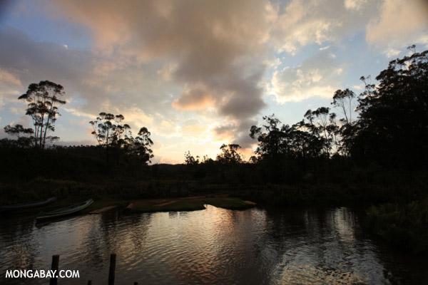 Sunset in Tamatave