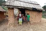 Family in a tiny village near Mantandia [madagascar_0986]