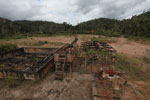 Damage from a graphite mine near Mantandia [madagascar_1112]