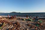 Community fishing on the beach near Maroantsetra [madagascar_1818]