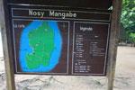 Nosy Mangabe map