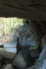 Fasana or tombs on Nosy Mangabe [madagascar_1910]